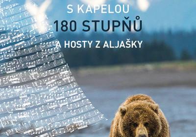 Hudební večer s kapelou 180° a hosty z Aljašky
