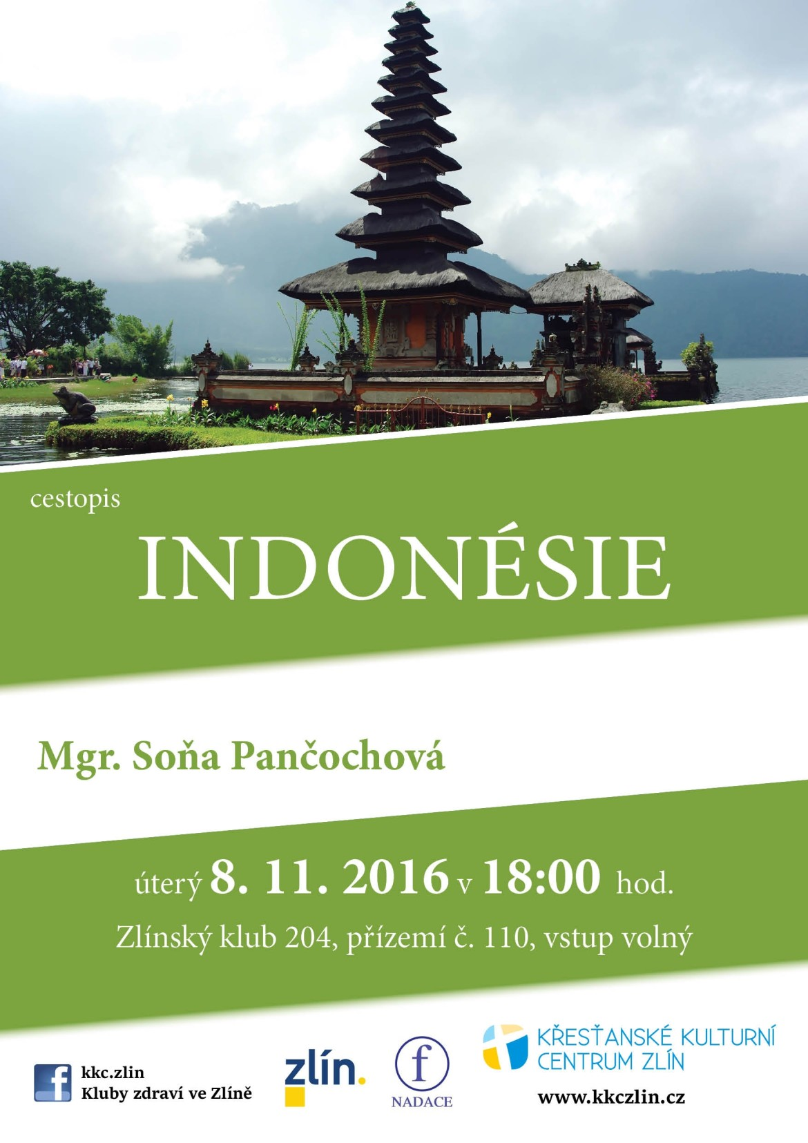 Indonésie. Mgr. Soňa Pančochová