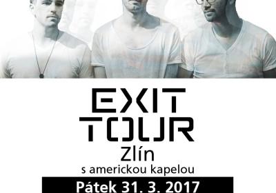 EXIT TOUR 2017 ve Zlíně s koncertem v GALXii