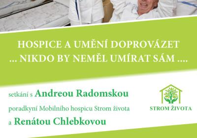 Hospice a umění doprovázet. Andrea Radomská