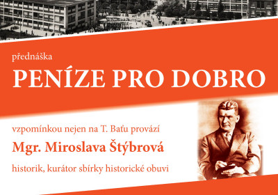 Peníze pro dobro. Mgr. Miroslava Štýbrová