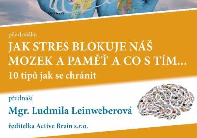 Jak stres blokuje… a co s tím Mgr. Ludmila Leinweberová