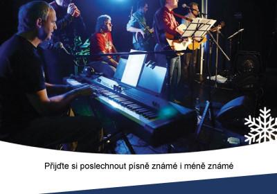 Vánoční koncert country-folkové skupiny SÝKORKY