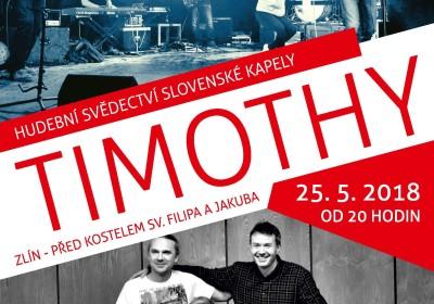 Timothy Slovenská kapela ve Zlíně