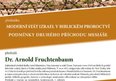 Moderní stát Izrael v biblickém proroctví. Podmínky druhého příchodu Mesiáše.