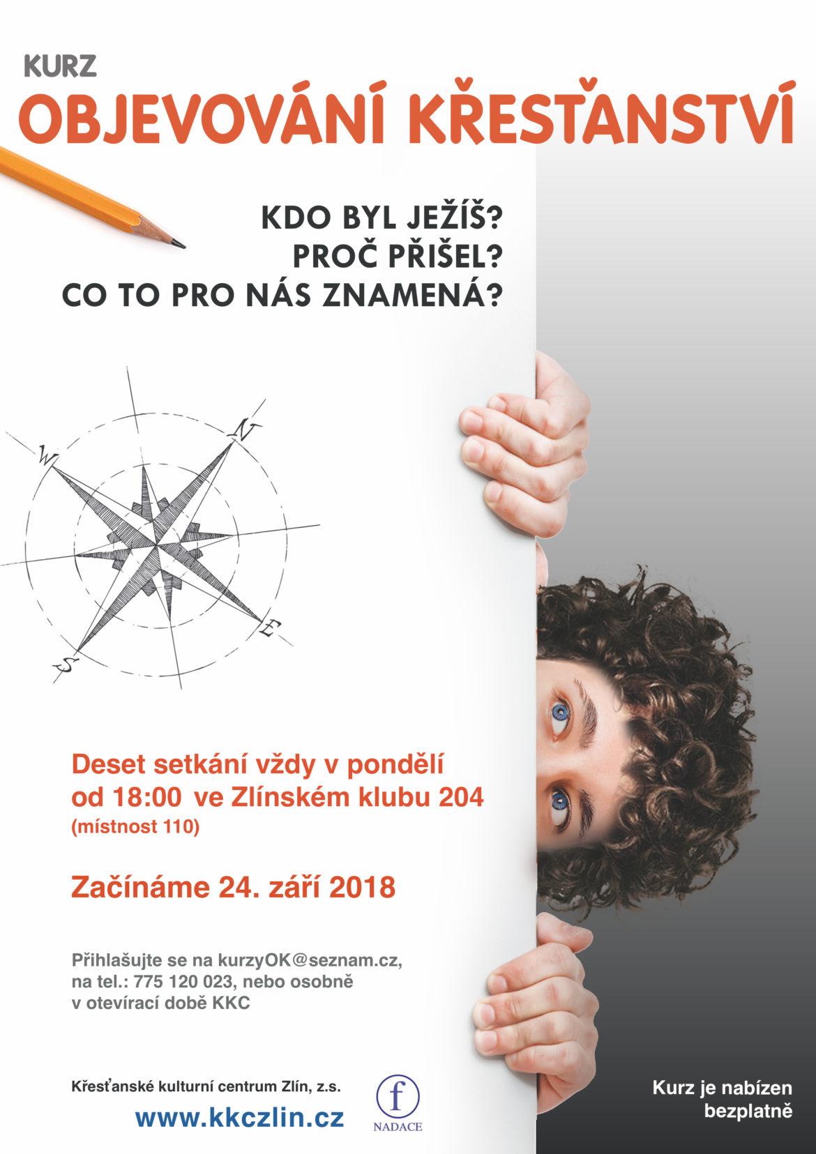 Objevování křesťanství 2018 – desetitýdenní kurz