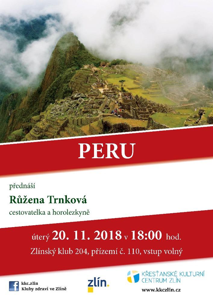 Peru. Růžena Trnková