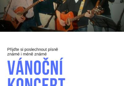 Vánoční koncert – kapela SÝKORKY