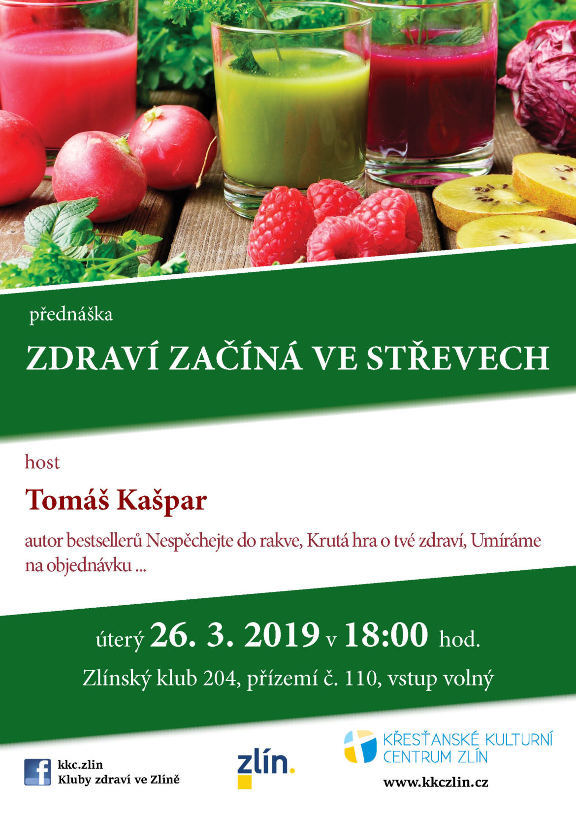 Zdraví začíná ve střevech – Tomáš Kašpar