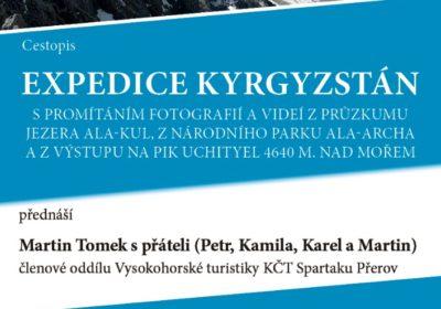 Expedice Kyrgystán – Martin Tomek