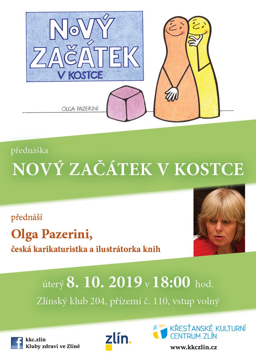 Nový začátek v kostce – Olga Pazerini