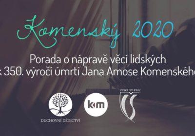 Komenský 2020 – projekt k výročí J.A.Komenského